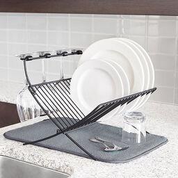 Dish Racks & Sink Area