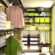 Elfa Best Selling Solution - Dressing Room