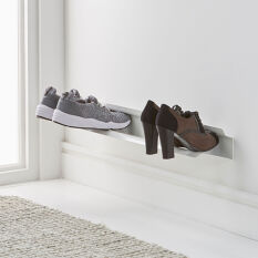 Wall Mounted Shoe Rack - Small
