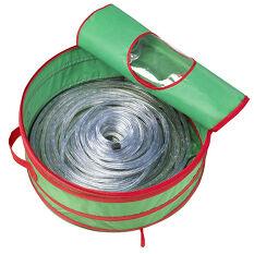 Outdoor Christmas Lights Storage Bag