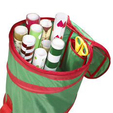 Pop-Up Gift Wrap Storage Bag