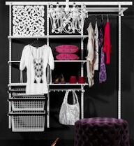 Elfa Best Selling Solution - Classic Wardrobe II