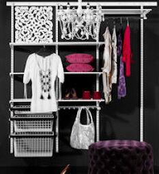 Elfa Best Selling Solution - Classic Wardrobe II