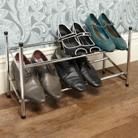 Stacking & Extending Shoe Rack
