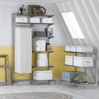 Elfa Freestanding Solution - Loft Space Shelving