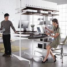Elfa Ultimate Office Desk & Shelving