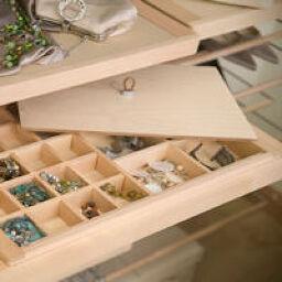 4. Decor Wooden Storage