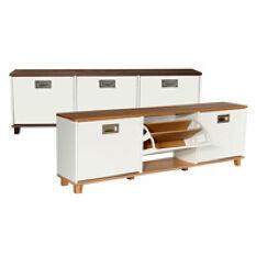 Merton Shoe Storage Bench - 3 Drawer