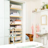 Elfa Best Selling Solution - Bathroom Shelving II