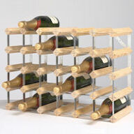 Traditional Wine Rack - 30 Bottle