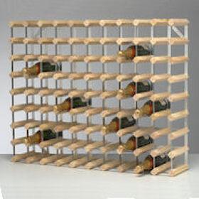 Traditional Wine Rack - 90 Bottle