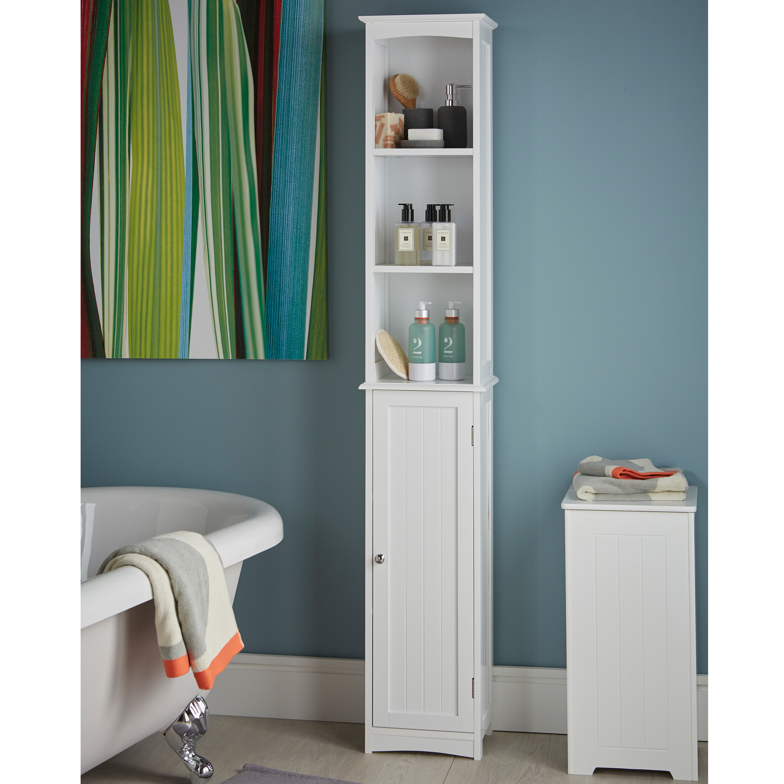 Slimline Tall Bathroom Storage Cabinet Store