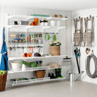 Elfa Best Selling Solution - Garage Shelving III