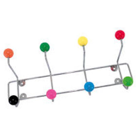 Multi-Coloured Coat Hook