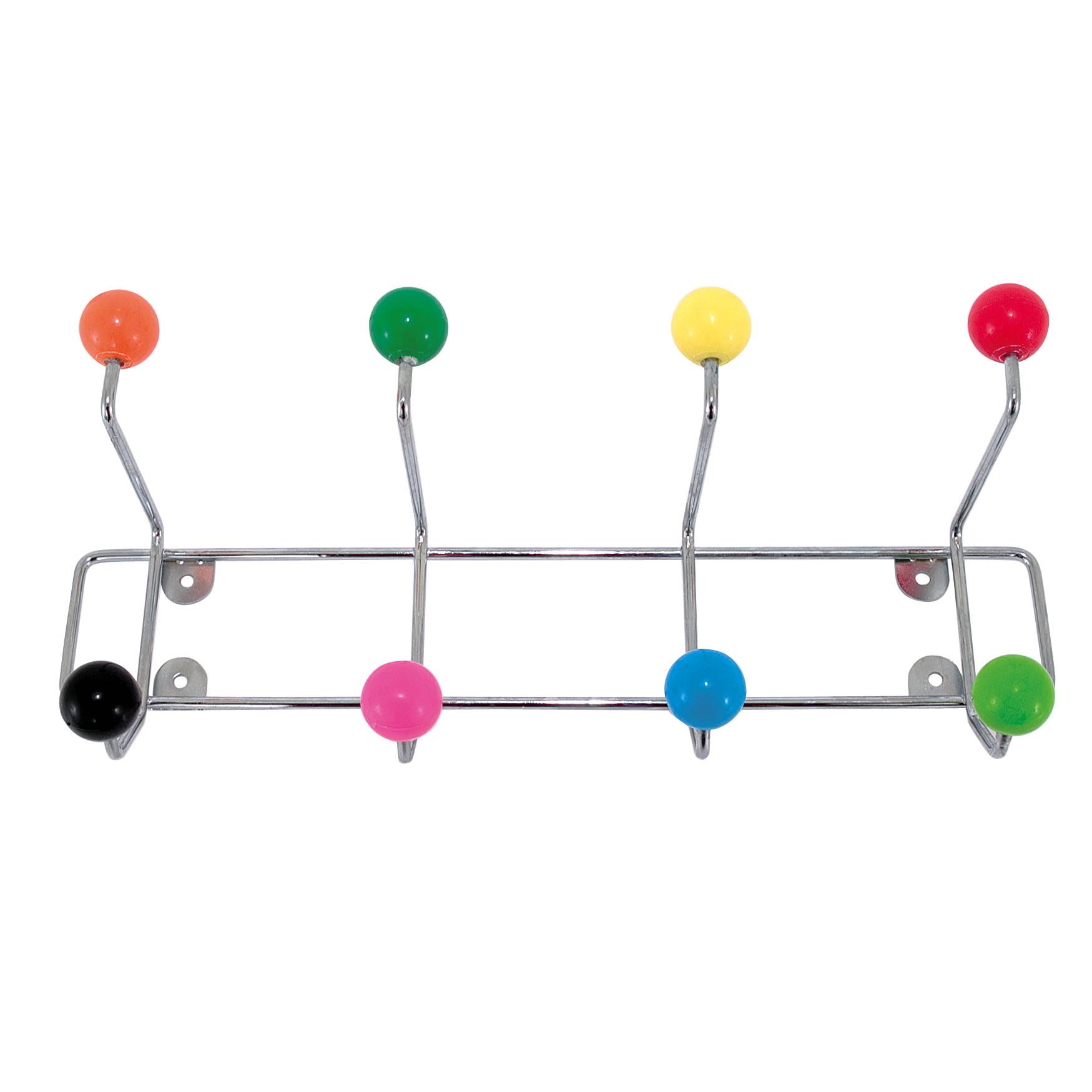 Multi-Coloured Coat Hook