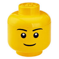 Giant LEGO Man Storage Head - Small