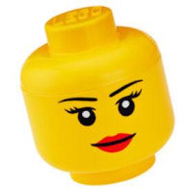 Giant LEGO Storage Head - Female