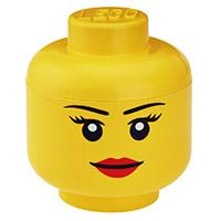 Giant LEGO Storage Head -  Small Female