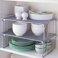Large Stacking Mesh Shelf