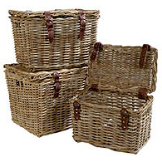 Fisherman's Wicker Basket - Medium