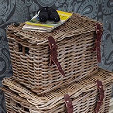 Fisherman's Wicker Basket - Small
