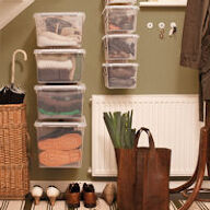 WALL STORE® - Hallway Storage Boxes