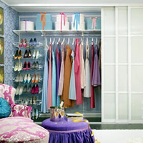 Elfa Best Selling Solution - Classic Wardrobe 5