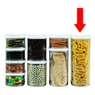Clear Kitchen Storage Canister - 2000ml