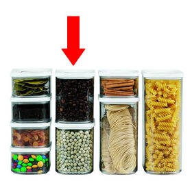 Clear Kitchen Storage Canister - 1000ml