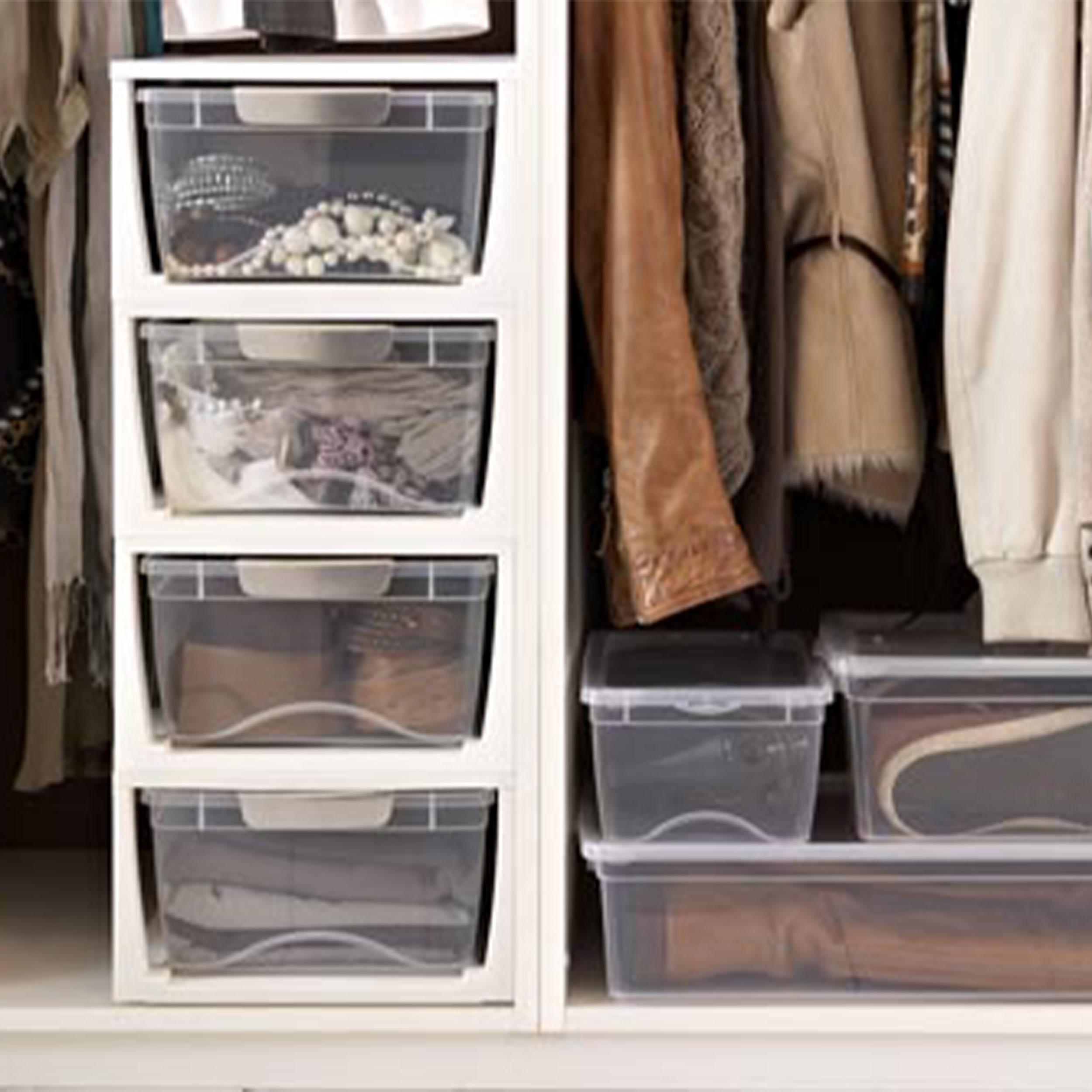Shoe & Wardrobe Storage Drawers   Large
