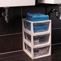 Stacking Bathroom Storage Drawer