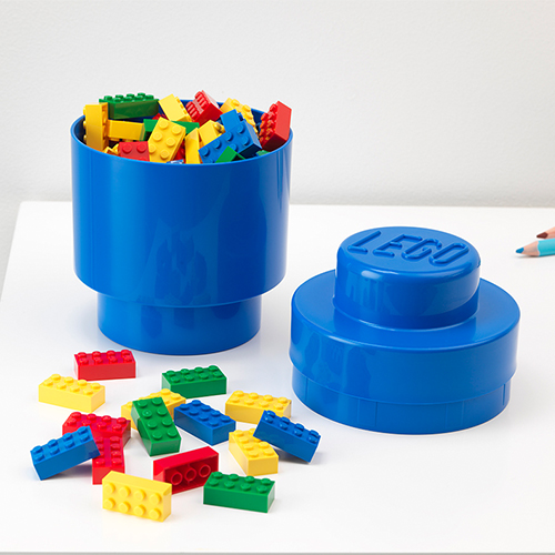 Giant LEGO Brick Storage Box - Round