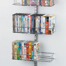 Elfa Door and Wall Media Rack