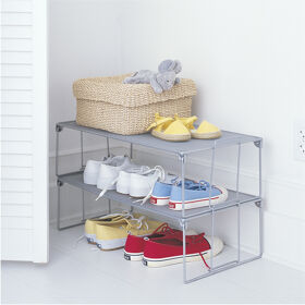 Stackable Mesh Shoe Shelf