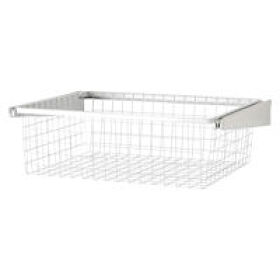 Elfa 60cm Gliding Drawer & Basket - Shallow