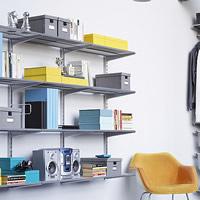 Elfa Office Shelving Solution
