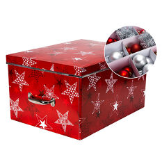 Cardboard Christmas Decorations Storage Box