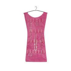 Little Pink Dress Hanging Jewellery Organiser