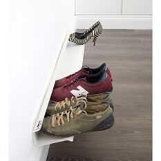 Wall Mounted Shoe Rack - Large