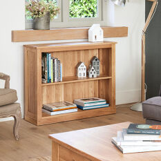 Solid Oak Book Case - Mobel