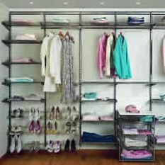 Elfa Wardrobe - Best Selling Solution Platinum