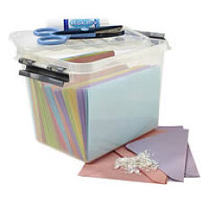 Paper Craft Storage Box - 3 Litre