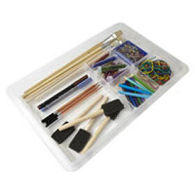 Lipped Craft / Stationery Divider Tray