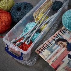 Knitting Needle / Paint Brush Storage Box