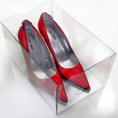 3 x Stacking High Stiletto Shoe Drawers