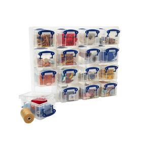 16 x Craft Storage Box Organiser Unit