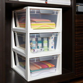 Stacking Craft Storage Drawers