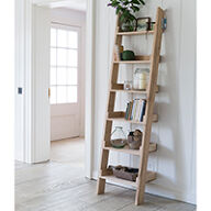 Hambledon Oak Ladder Shelf - Small