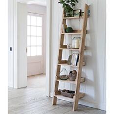 Hambledon Oak Ladder Shelf - Small
