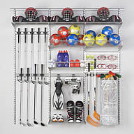 Sports Equipment Storage - Best Selling Elfa Solution